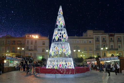 Arbol de navidad para espacios grandes