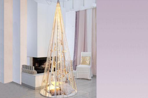 Arbol de navidad para espacios pequeños