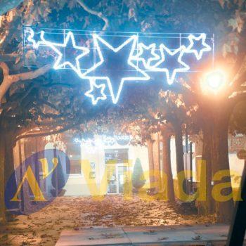 7 Estrellas LED para ambientar parques