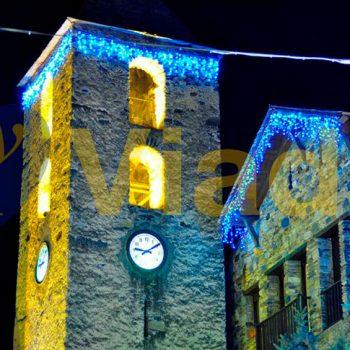 Iglesia milenaria románica de un pueblo