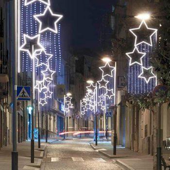 Dudas al decorar con iluminación de Navidad
