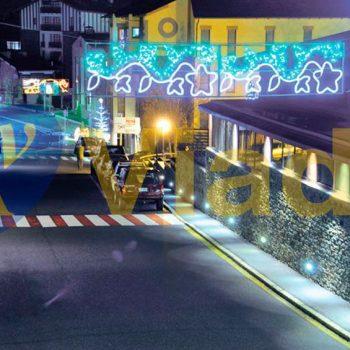 Motivo Navideño de Yedra LED 0,75x2m