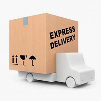 Tipos de envío disponibles