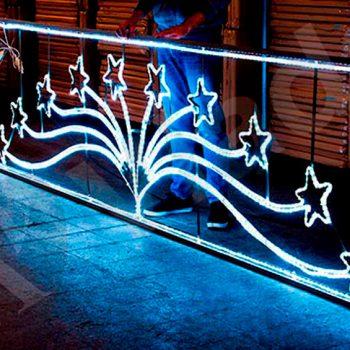 Liquidación luces de Navidad recableadas