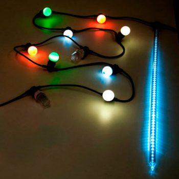 Guirnaldas de Navidad - ¿E27 o Sistema Viada Instant Connect?