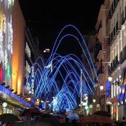 Horarios de encendido luces Navidad Madrid